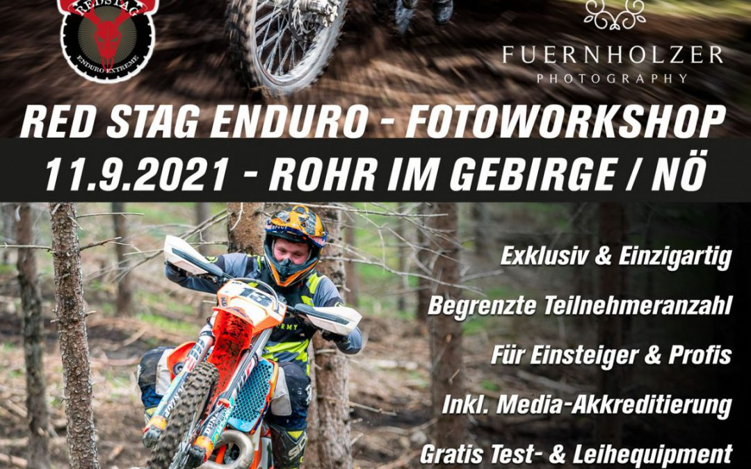 RED STAG Extreme Enduro Fotoworkshop 2021